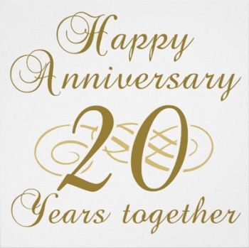 20 Years Together The 20th Wedding Anniversary