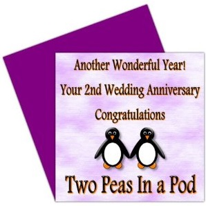 2nd Wedding Anniversary Gifts - Top Ideas For 2018