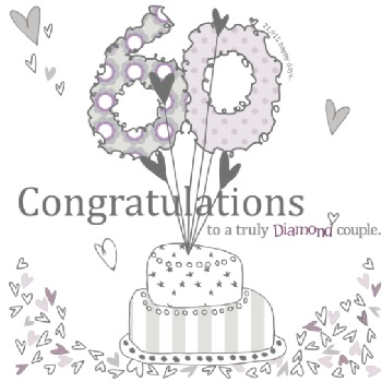 congratulations to diamond couple