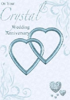 Crystal Wedding Anniversary