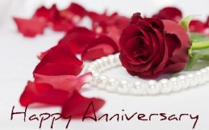 happy anniversary roses