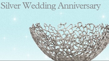 silver wedding anniversary